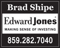 Brad Shipe - Edward Jones