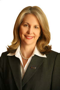 Club President, Pam Goetting, is senior vice president of Heritage Bank.