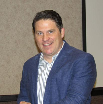 Paul Miller of Circus Mojo.