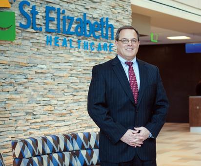 St. Elizabeth CEO Garren Colvin.