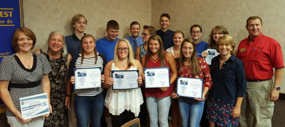 Interact students of Boone County.